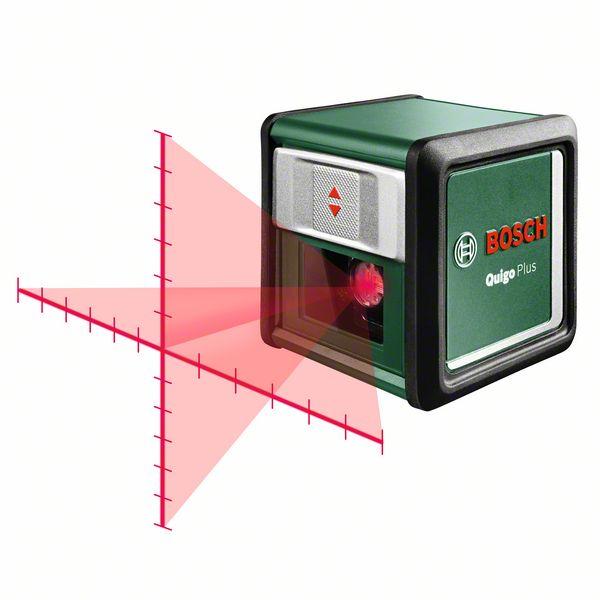 Bosch Krížový čiarový laser Quigo Plus 0603663600