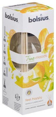 Difúzer bolsius True Moods, feel happy (mango a bergamot)