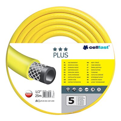 "Cellfast Hadica Plus 3/4"", L-25 m, žltá"