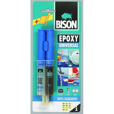 Lepidlo Bison Epoxy Universal, 24 ml