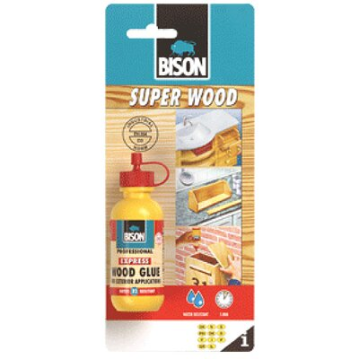 Lepidlo Bison Super Wood Glue, 75 g