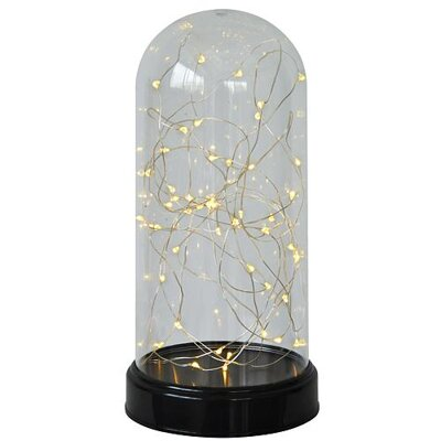 MagicHome Kupola DomeLight, 50xLED, 13.5x27cm, Clear Dome, Steady, 3xAA