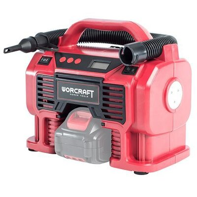 Worcraft Kompresor CAC-S20Li, 20V, Li-Ion, 160 Psi, 11 Bar