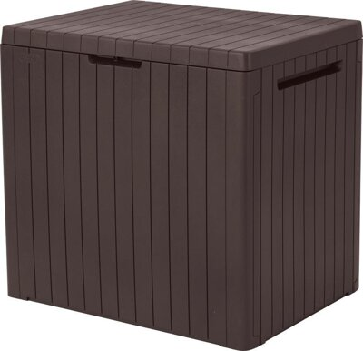 Keter City storage box 113L, hnedý