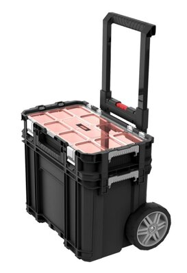 Keter 17205661, CONNECT Cart+Organizer
