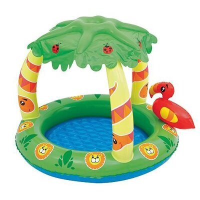 Bestway 52179 Bazén, 99x91x71 cm, Friendly Jungle Play Pool, nafukovací